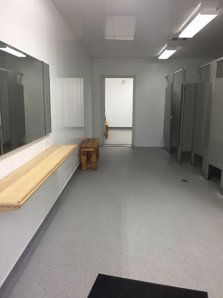Brand new accessible washrooms